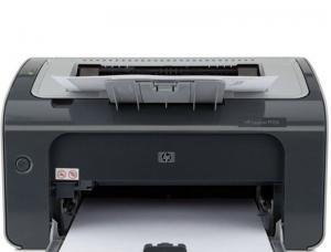 HP惠普P1106黑白激光打印机家用A4办公家庭作业打印小型商用证件