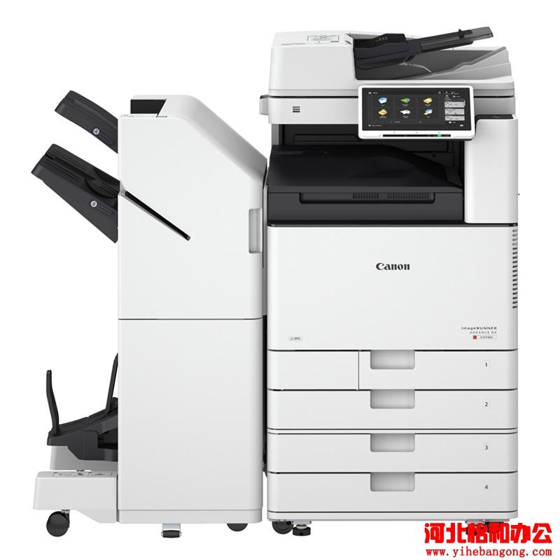 佳能打印机复印机卡纸了怎么把纸拿出来